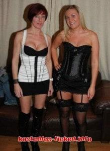 2 tabulose Hausfrauen aus Frankfurt ficken